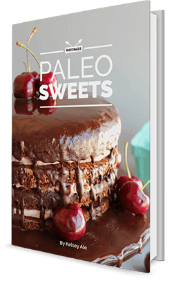 paleo sweets book
