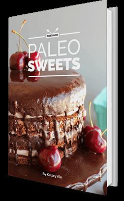 paleo sweets book